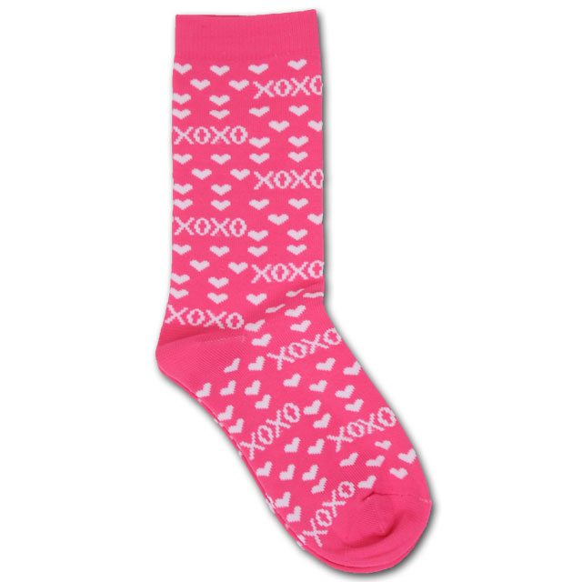 Image For Pink Heart Socks *WAS $9.99