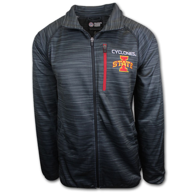 Cover Image For Full Zip Black Cyclones Jacket