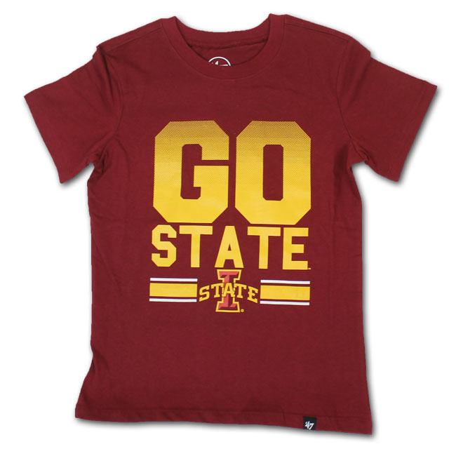 Image For 47' Youth Cardinal Go State T-Shirt