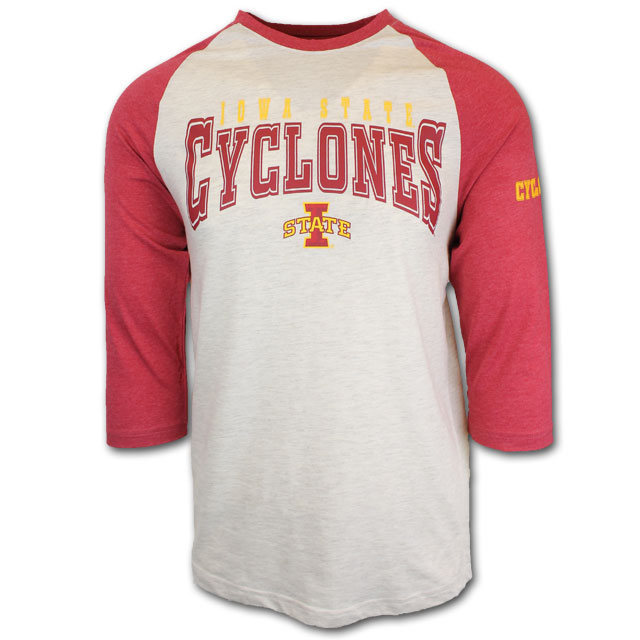 Cover Image For 47' Cyclones Baseball Tee
