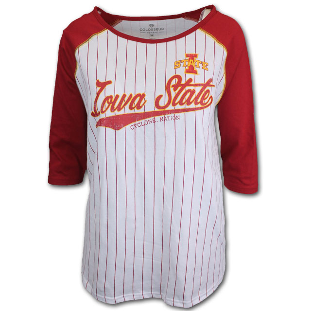 Cover Image For Colosseum® Women's Baseball Tee *WAS $28.00
