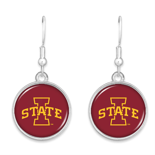 Cover Image For Iowa State Earrings