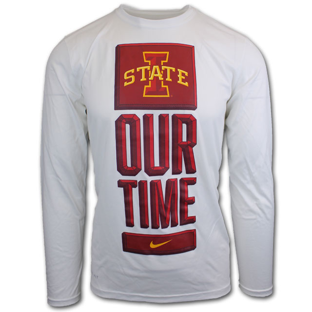 Cover Image For Nike® Our Time Long Sleeve T-Shirt* WAS $40.00