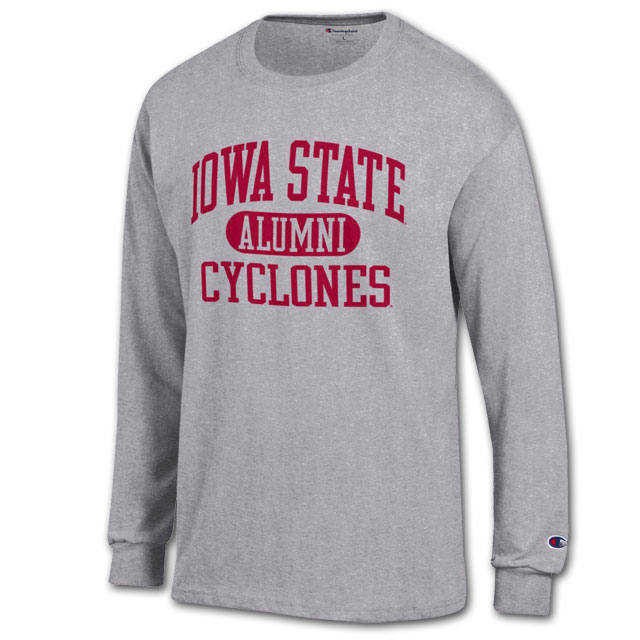 Image For Champion® Iowa State Cyclones Alumni Long Sleeve T-Shirt
