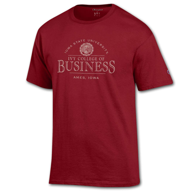Cover Image For Champion® College of Business T-Shirt* WAS $19.99