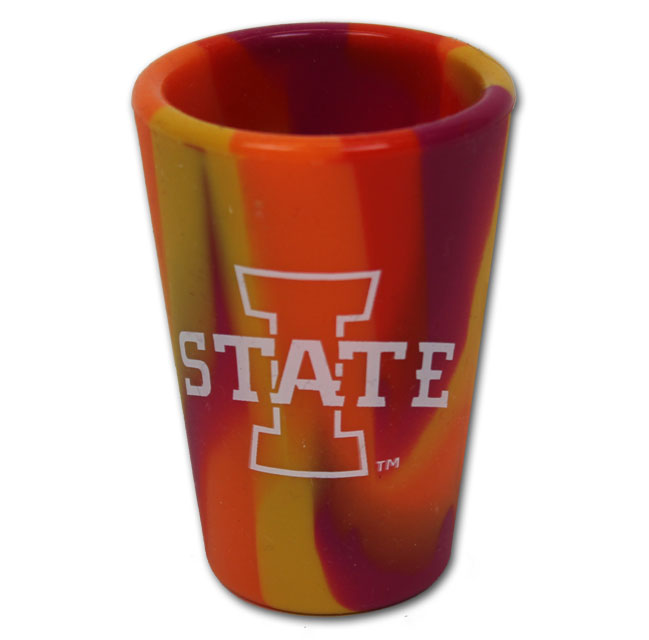 Cover Image For Silipint® I-State Sunfire Smash 1.5oz Shot Glass