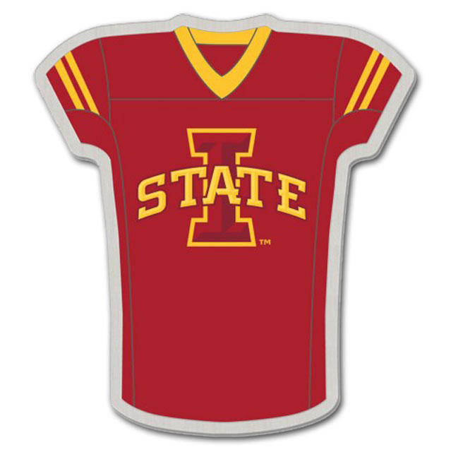 Cover Image For I-State Football Jersey Pin