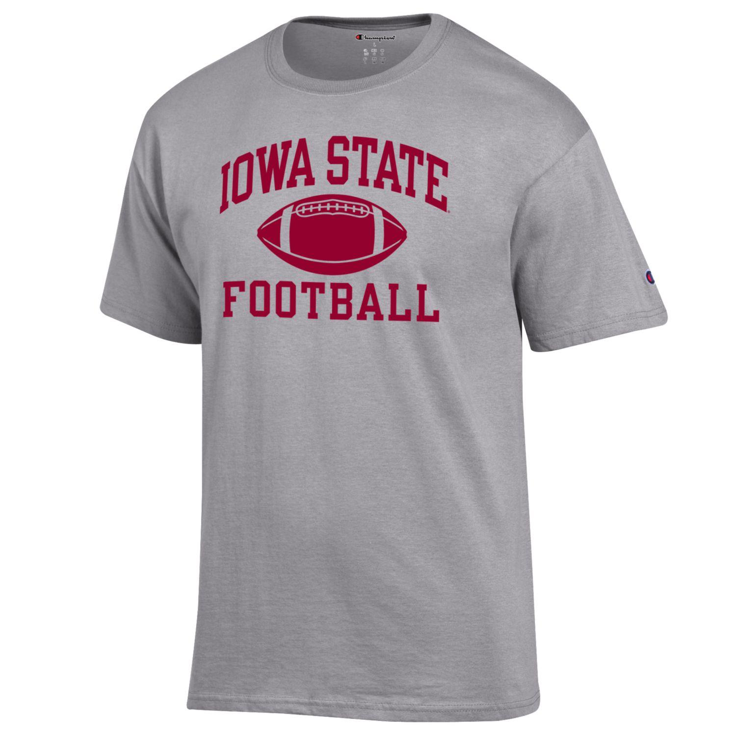 Image For Champion® Iowa State Football Short Sleeve T-Shirt