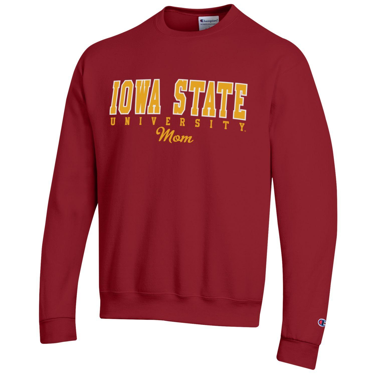 Image For Champion® Iowa State Mom Crewneck Sweatshirt