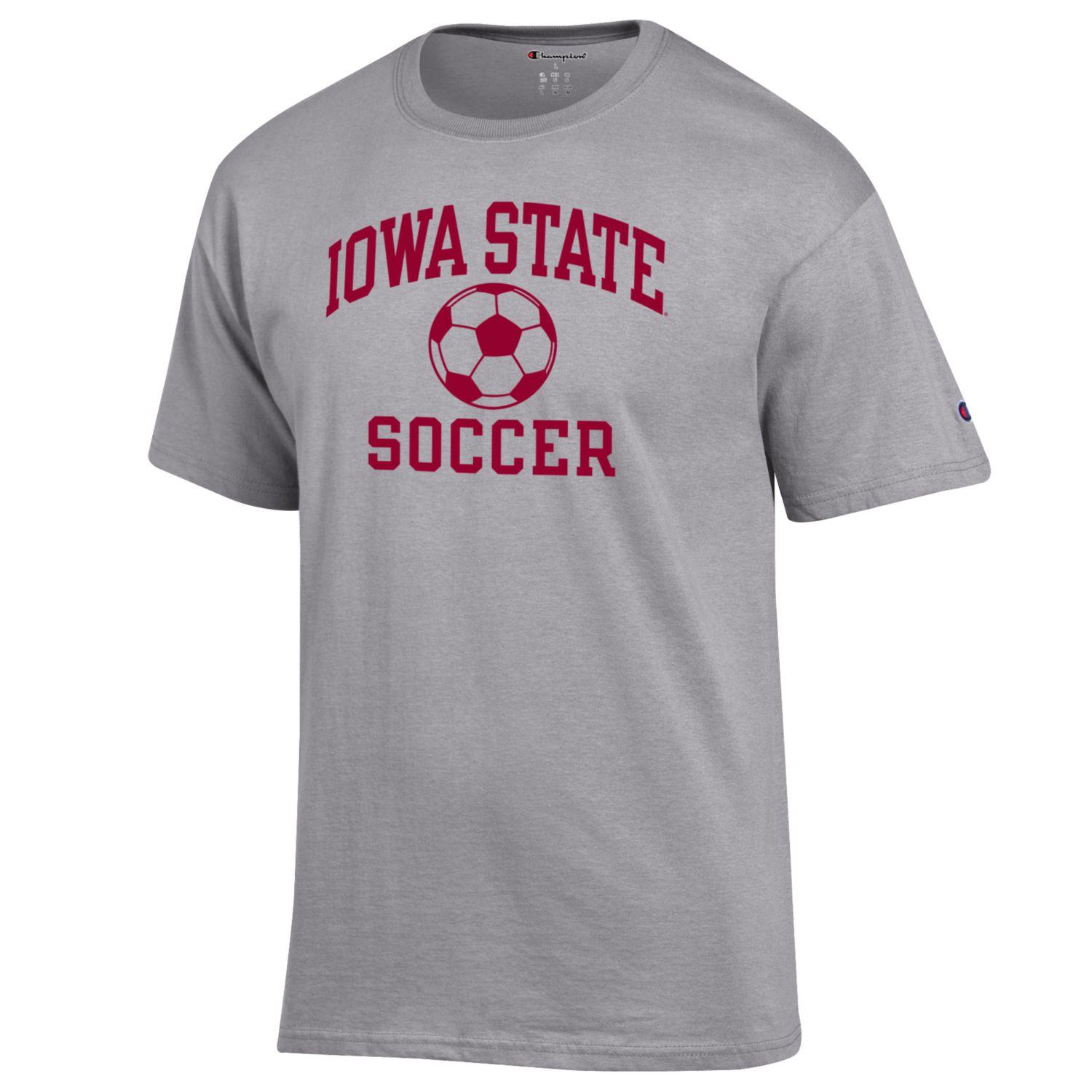 Image For Champion® Iowa State Soccer Short Sleeve T-Shirt