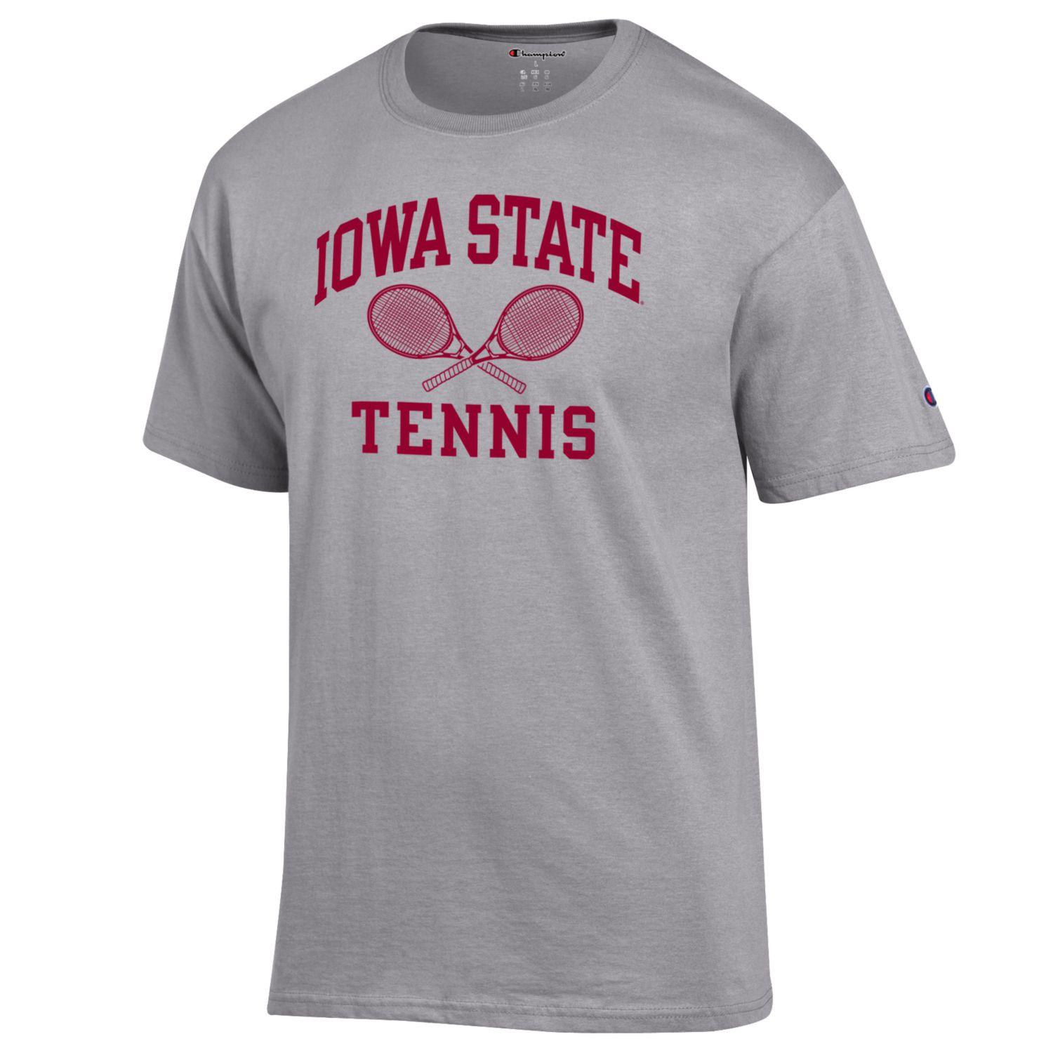 Cover Image For Champion® Iowa State Tennis Short Sleeve T-Shirt