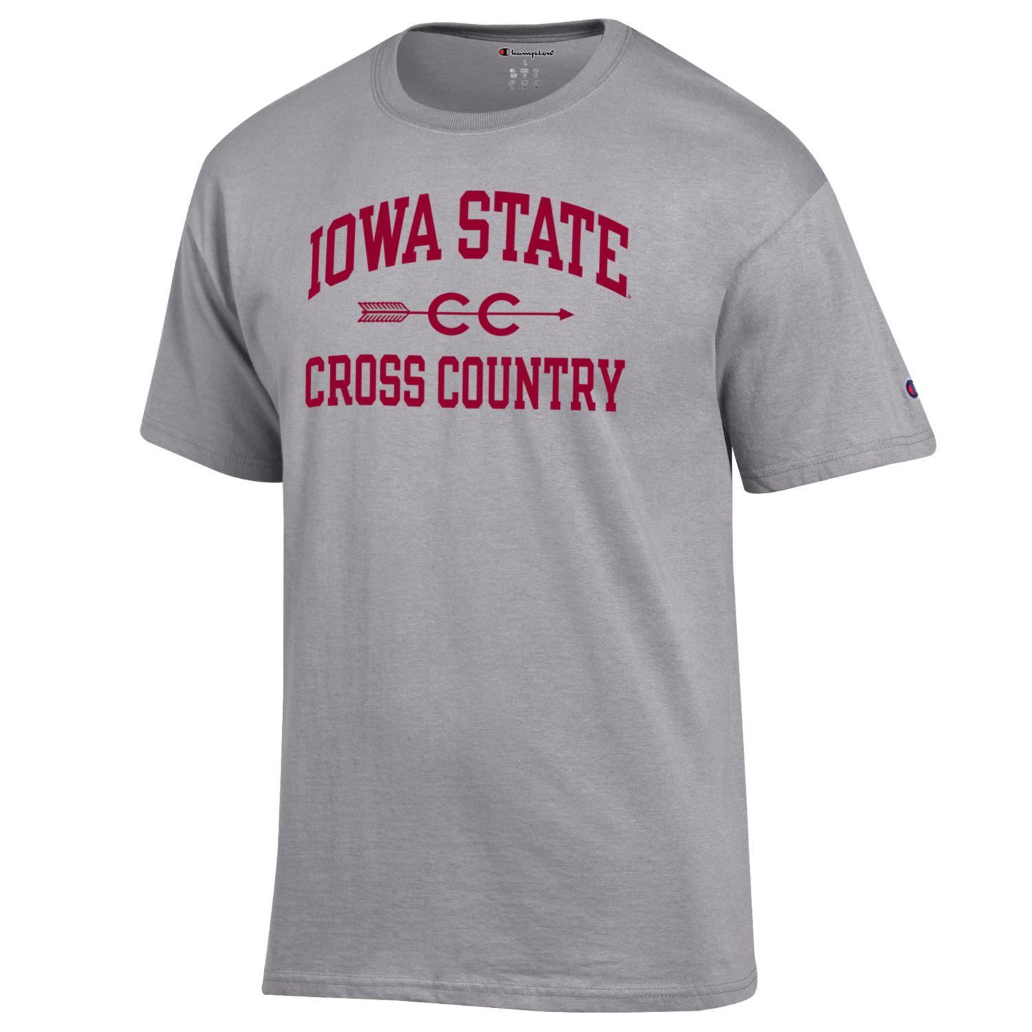 Cover Image For Champion® Iowa State Cross Country Short Sleeve T-Shirt