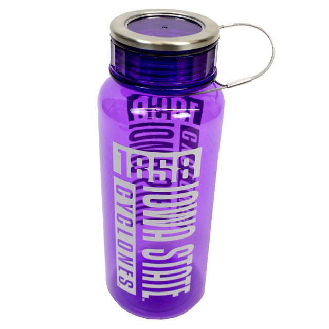 Image For h2go® Canter Iowa State 33.8oz Water Bottle * WAS $16.99