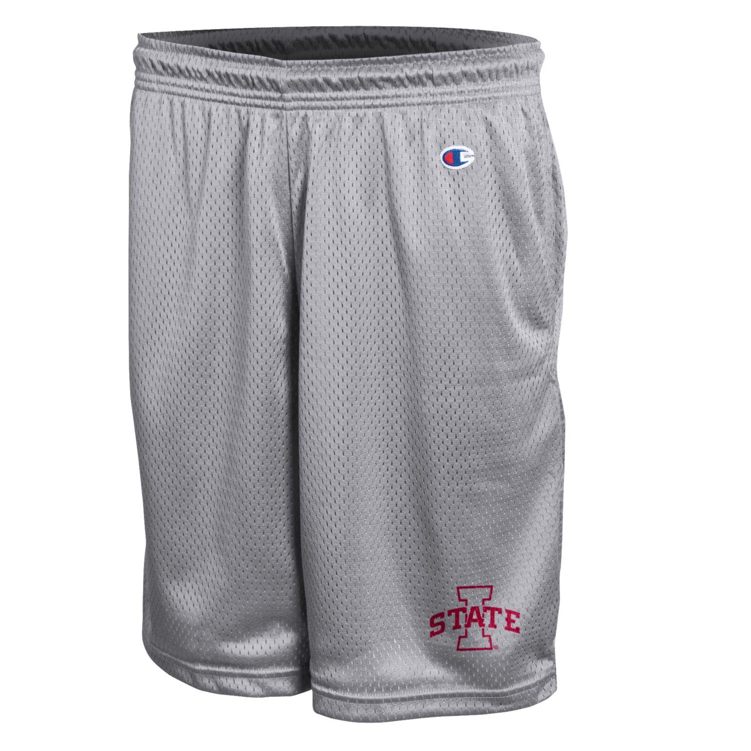 Image For I-State Grey Mesh Shorts
