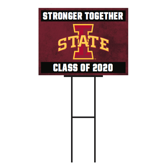 Image For I-State Class of 2020 Yard Sign
