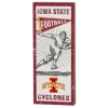 Image for Vintage Iowa State Football Player Sign