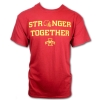 Stronger Together Game Day Short Sleeve T-Shirt (Cardinal) Image