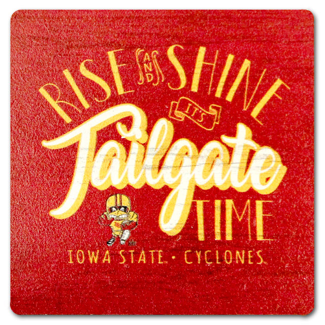 Cover Image For Legacy® Rise & Shine It's Tailgate Time Magnet