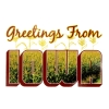 Image for Greetings from Iowa Decal