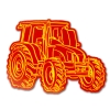 Image for Iowa State Tractor Decal