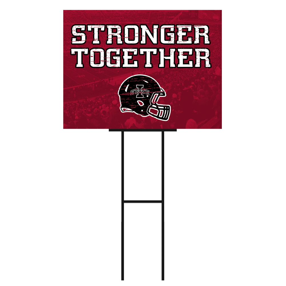 Cover Image For I-State Stronger Together Gameday Yard Sign