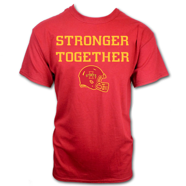 Image For Stronger Together Gameday Short Sleeve T-Shirt (Cardinal)