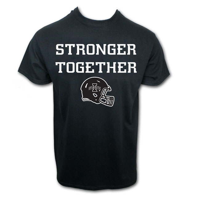 Cover Image For Stronger Together Gameday Short Sleeve T-Shirt (Black)
