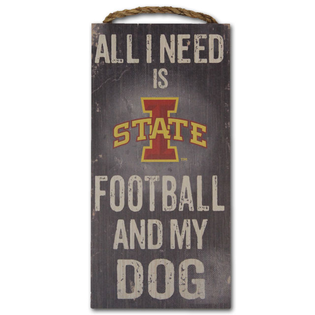 Image For Football and My Dog Sign