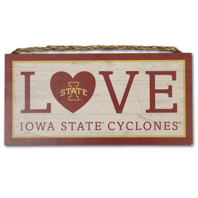 Image For Iowa State Love Sign