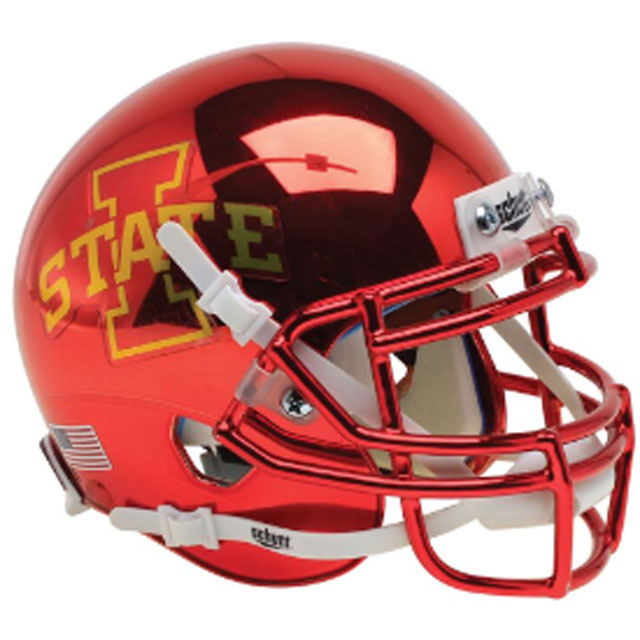 Image For Authentic Mini I-State Helmet (Cardinal Chrome)