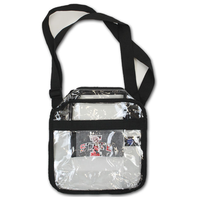 Image For Clear Floral I-State Carryall Crossbody