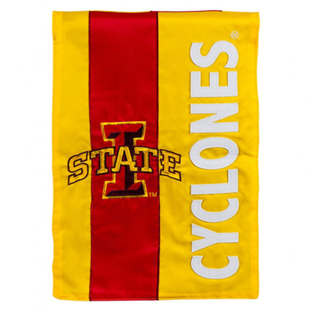 Image For I-State Cyclones Decorative Garden Flag