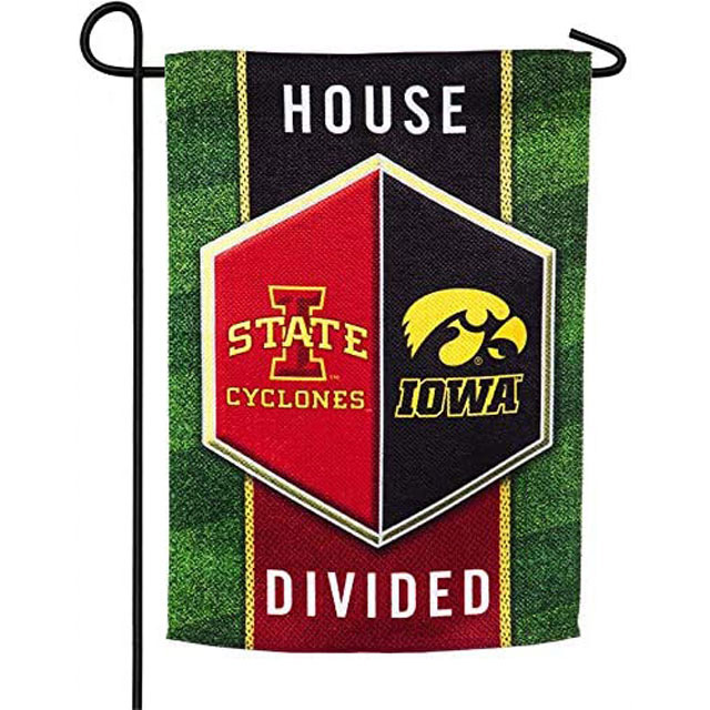 Image For House Divided Decorative Garden Flag