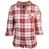 Image for Women's Three Quarter Sleeve Flannel