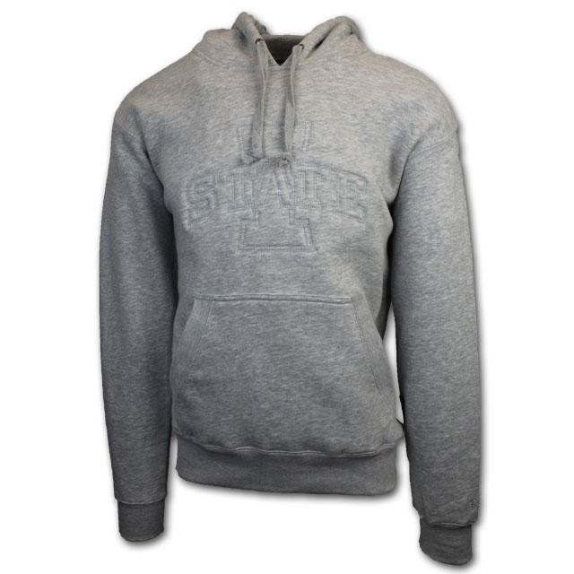 Image For Gear For Sports® Gray Tonal Hooded Sweatshirt