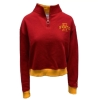 Image for Champion® Women's Cardinal Cropped 1/4 Zip