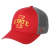 Zephyr® Cardinal and Grey I-State Mesh Cap Image