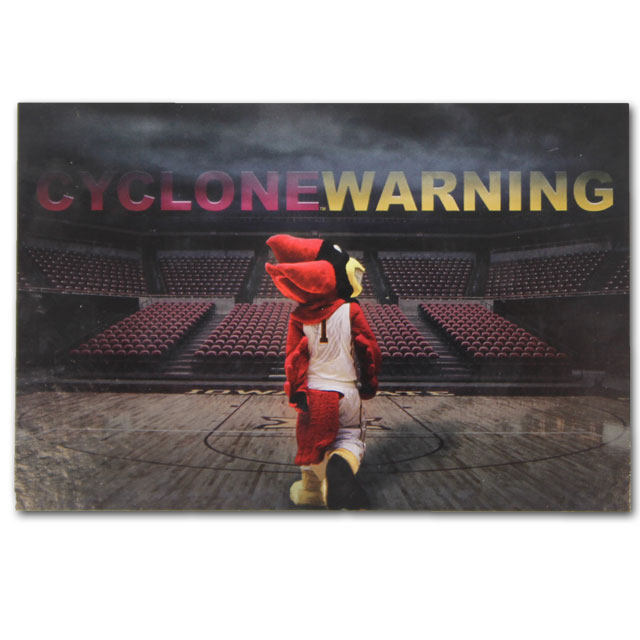 Image For Cyclone Warning Postcard