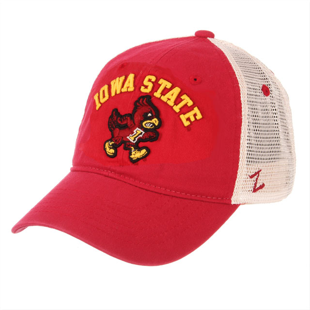 Cover Image For Zephyr® Iowa State Walking Cy Mesh Cap