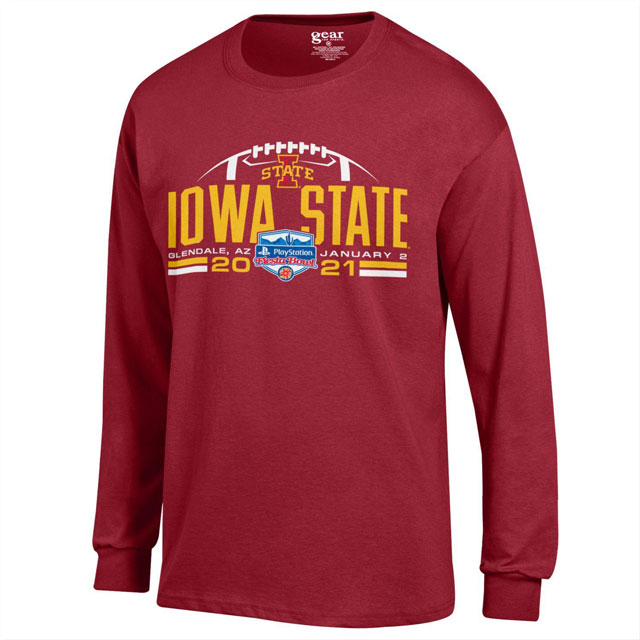 Image For 2021 Fiesta Bowl I-State Long Sleeve T-Shirt* WAS $27.99