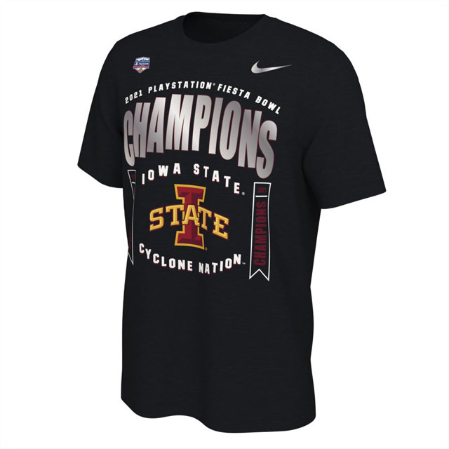 Image For 2021 Fiesta Bowl Champions T-Shirt (Nike)