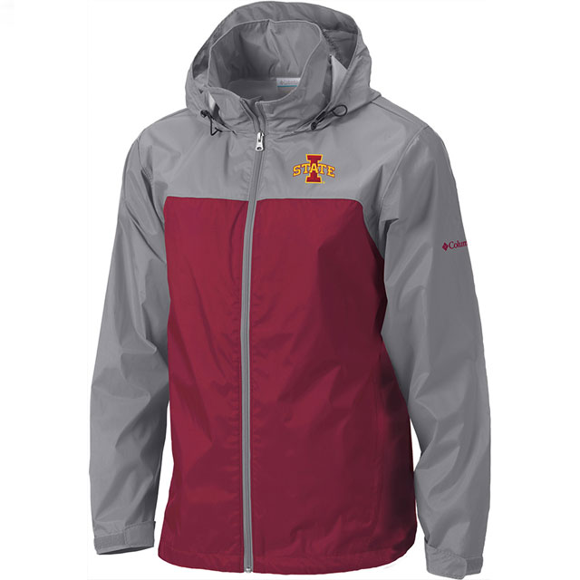 Cover Image For Columbia® Iowa State Glennaker Lake II Light Weight Jacket