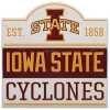 Cover Image for Bump Planked Wood Iowa State Cyclones Sign