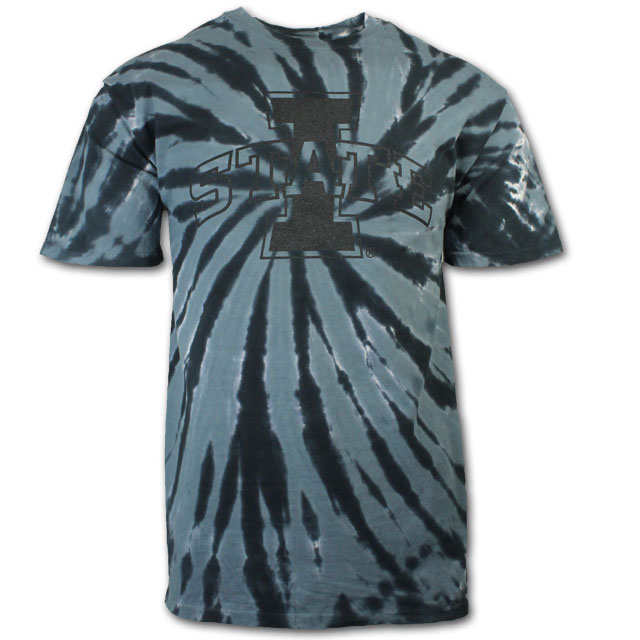 Cover Image For Limited Edition I-State Black Tie Dye T-Shirt* WAS $15.00